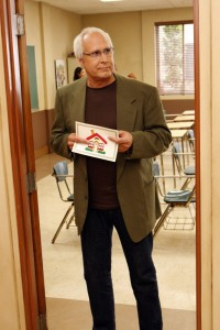 "Chevy Chase stars in NBC's ""Community"""