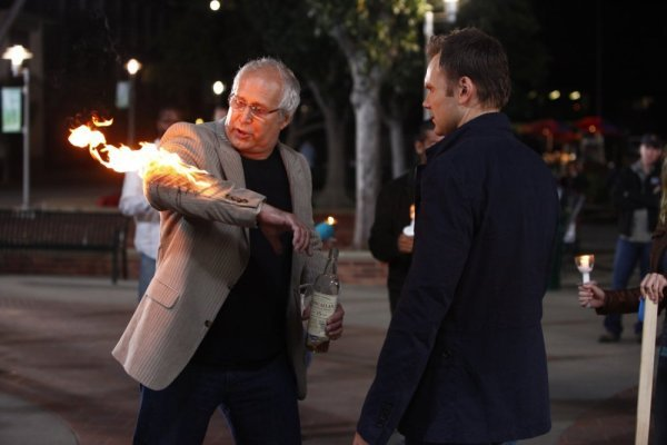 "Chevy Chase and Joel McHale star in NBC's ""Community"""