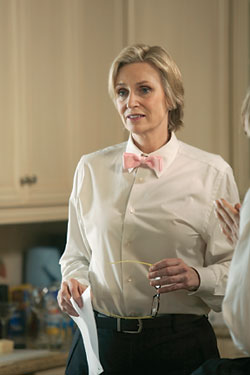 "Jane Lynch will return for Season 2 of ""Party Down"""