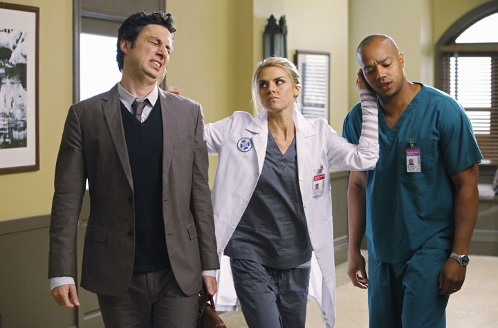 Is this how they convinced Zach Braff and Donald Faison to return for Season 9?