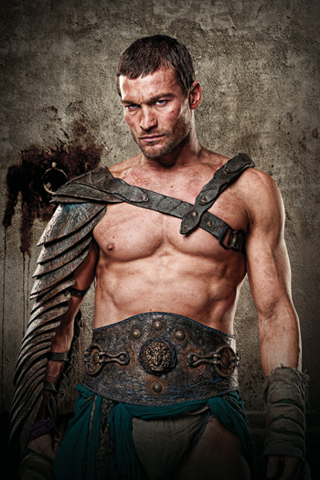 """Andy Whitfield stars in Starz's """"Spartacus: Blood and Sand"""""""