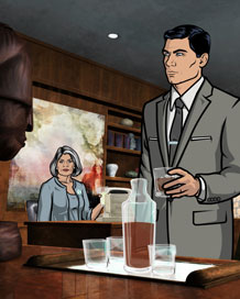 """FX's hit animated series """"Archer"""""""