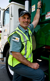 "Waste Management President Larry O'Donnell appears on ""Undercover Boss"""