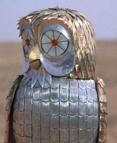 The owl is kind of cool, though.