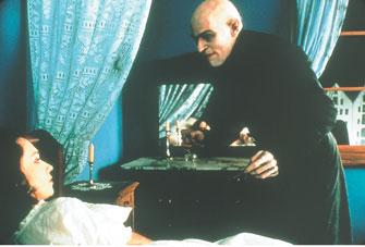 Willem Dafoe's creepy, but not THAT creepy.