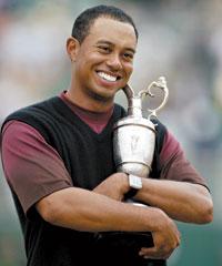 Tiger Woods British Open