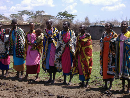 Maasai Welcome