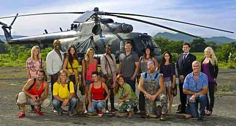 Survivor: Redemption Island cast