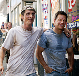 """Christian Bale and Mark Wahlberg star in """"The Fighter"""""""