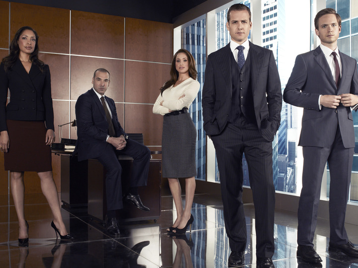 "Cast of USA Network's ""Suits"""