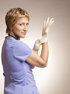 "Edie Falco stars in Showtime's ""Nurse Jackie"""