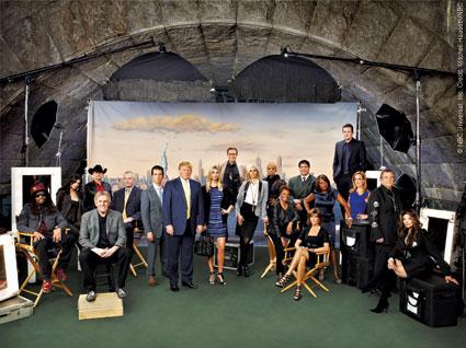 The cast of Celebrity Apprentice