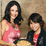 Moises Arias and mom Monica