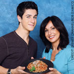 David Henrie and mom Linda