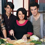 Jonas Brothers and mom Denise