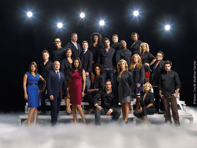 The cast of Top Chef All-Stars