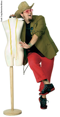 Jay McCarrol was the first winner of Project Runway