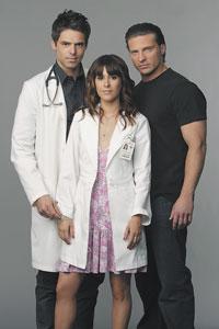 Jason Thompson as Patrick Drake, Kimberly McCulluough as Robin Scorpio, and Steve Burton as Jason Morgan star on SOAPnet's new original series, General Hospital: Night Shift.