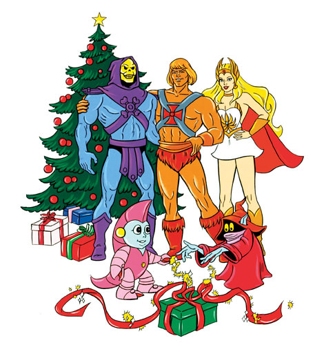 He Man Christmas.Yes Virginia There Is A He Man She Ra Christmas Special
