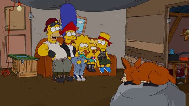 "The Simpsons 500th Episode ""At Long Last Leave"""