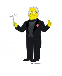 Simpsons maestro Alf Clausen