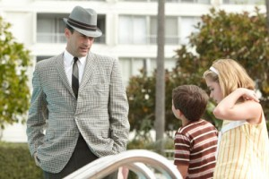"Jon Hamm stars as Don Draper in AMC's ""Mad Men"""