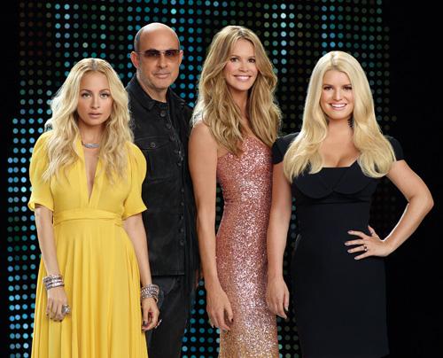 Fashion Star, Nicole Richie, Jessica Simpson