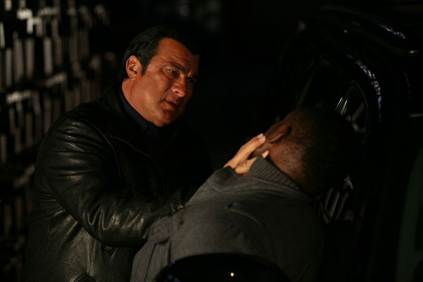 "Steven Seagal in ""True Justice"""