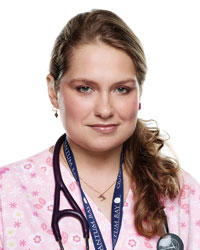 Merritt Weaver from Nurse Jackie
