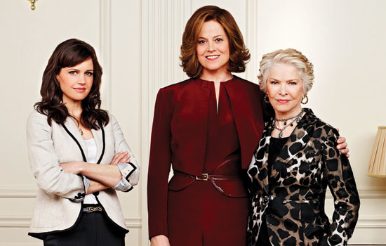 Carla Gugino, Sigourney Weaver, and Ellen Burstyn star in Political Animals
