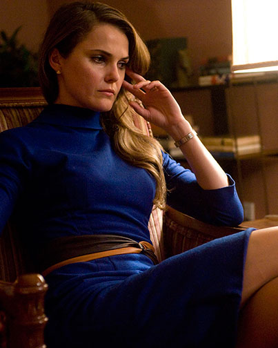 "Keri Russell stars in the upcoming FX drama, ""The Americans,"" slated to premiere early next year."