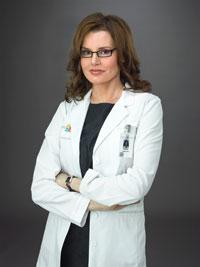 Geena Davis in Coma