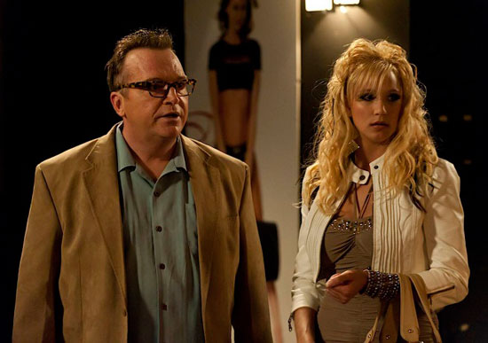 """Tom Arnold plays pornographer Georgie Caruso in a Season 4 episode of """"Sons of Anarchy"""""""