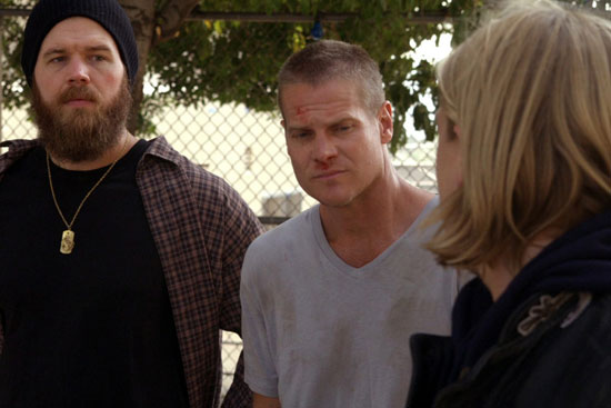 """Before """"Cougar Town,"""" Brian Van Holt made a guest appearance on FX's """"Sons of Anarchy."""""""