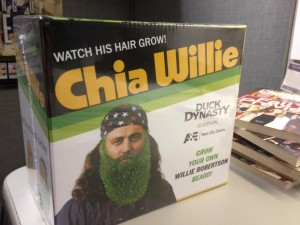 "Chia Willie promotion for A&E's ""Duck Dynasty"""