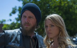 "Winter Ave Zoli and Ryan Hurst star in FX's ""Sons of Anarchy"""