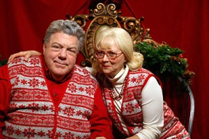 George Wendt and Shelley Long star in Merry-In-Laws, a Lifetime original movie, on Dec. 16