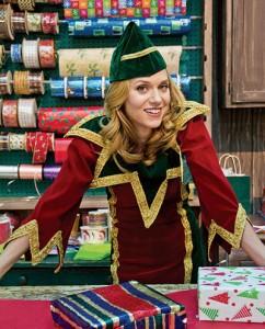 "HIarie Burton stars in Hallmark Channel's ""Naughty or Nice"""