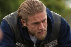 """Charlie Hunnam as Jax Teller in """"J'ai Obtenu Cette,"""" the Season 5 finale of """"Sons of Anarchy"""""""