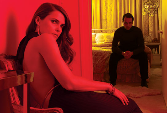 "Keri Russell and Matthew Ryhs star in FX's ""The Americans"""
