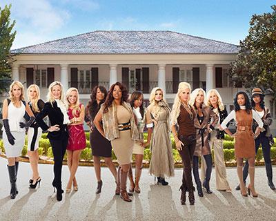 Big Rich Atlanta cast on Style features Marcia Marchman, Meagan McBryer, Katie Davidson, Dianna Davidson, Bri, Sharlinda Rowe-Parker, Kahdijiha, Ashlee Wilson Hawn, Meyer Eadon, Harvin Eadon, Virginia Kolb, Anadi McKenzie, Sabrina McKenzie