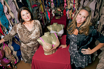 Double Divas on Lifetime follows LiviRae Lingerie owners Molly Hopkins and Cynthia Richards
