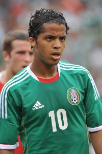 Mexico forward Giovani dos Santos, before 2014 World Cup Qualifier: Mexico vs Jamaica on Feb. 6
