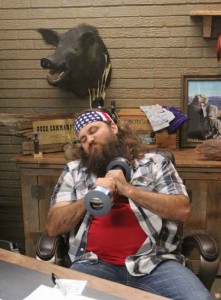 Willie Robertson on Season 3 of A&E's Duck Dynasty