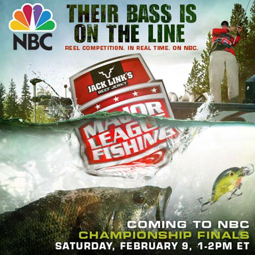 Major League Fishing Summit Cup on NBC