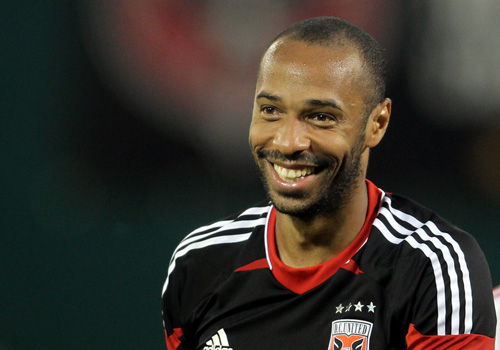 MLS New York Red Bulls forward Thierry Henry