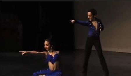 dance moms latin heat