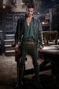 Star Tom Riley Da Vinci's Demons, a new Starz series