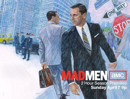 Mad men season 7 start date