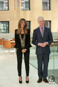 Nina Garcia and Tim Gunn in Project Runway Season 11, episode 11